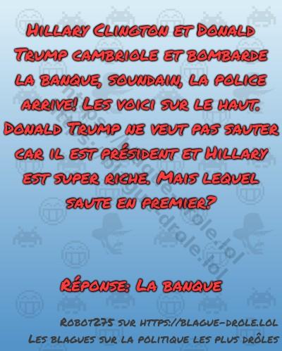 Hillary Clington et Donald Trump...
