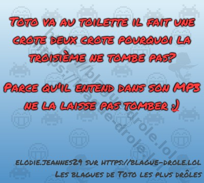 blague de toto drole blagues lol