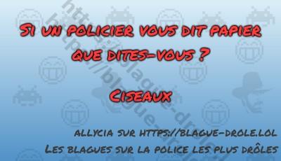Si un policier vous dit papier...