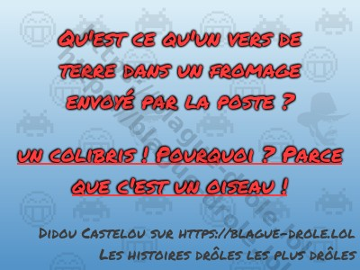blague drole fromage