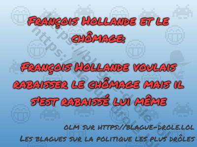François Hollande et le chômage:  François...
