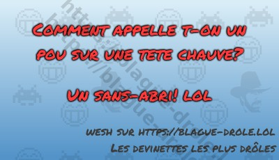 Comment appelle t-on un pou sur...