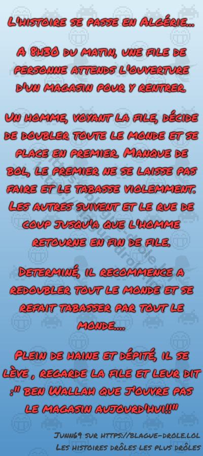 L'histoire se passe en Algérie...  A...
