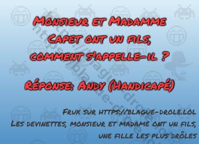 Monsieur et Madamme Capet ont...
