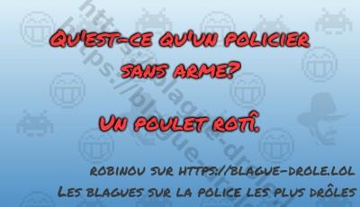 Qu'est-ce qu'un policier sans...