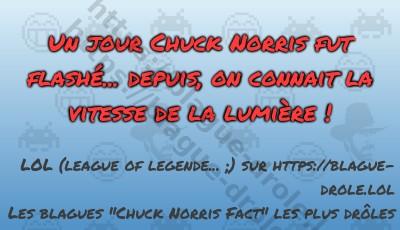 Un jour Chuck Norris fut flashé......