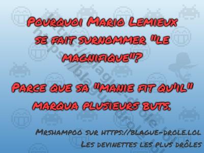 Pourquoi Mario Lemieux se fait...