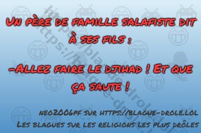Un père de famille salafiste dit...